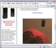 Virtual Laser Keyboard(クリックすると製品ページ(英文)へ)