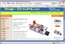Snap Circuits SC-750(クリックすると製品ページへ)