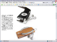 FlipPad for iPod nano 2G (クリックすると製品情報ページへ)