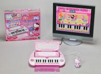 ハローキティ ピアノパソコン