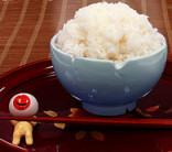 目玉おやじの箸おき&お風呂茶碗set