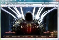 「Diablo III」公式ページへ