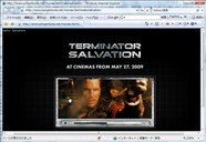 Terminator Salvation 公式ページへ