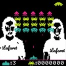SPACE INVADERS by Laforet 30th
