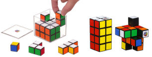 ルービックキューブ立体パズル/2×2×4ルービックタワー