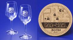 パックマン30周年記念ワイングラスセット