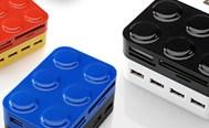 カードリーダー+USB ハブ