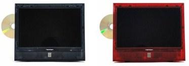 DVD内蔵 13.3型 スケルトン地上波デジタルハイビジョンテレビ