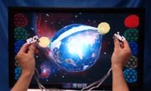 触れる立体テレビ