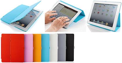 iPad2ハードケース(フラップ&スタンド)