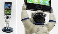 GALAXY SIIオリジナル 宇宙飛行士型充電スタンド・プレゼント・キャンペーン