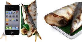 食品サンプルカバー(サンマ)