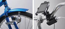 USB自転車ダイナモ充電器