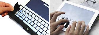 iPadキーボードワクシリコン/iPad用キーボードパッド