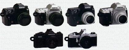PENTAX一眼レフカメラミニチュアコレクション