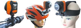 防水フルHDスポーツビデオカメラ