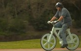 段ボール自転車