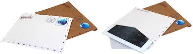 iPad用 エアメール風 ケース