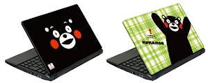 くまモンのノートパソコン