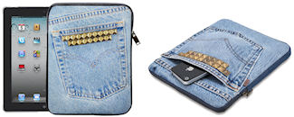 Denim iPad Cover