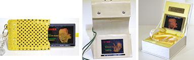 胎児の3Dホログラム写真