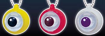 ダイオウイカの目 LEDキーチェーン