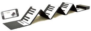 大人の紙鍵盤