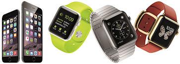 iPhone 6/6 Plus・Apple Watch