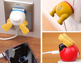 ディズニーキャラクター/USB-AC充電器 おしりシリーズ
