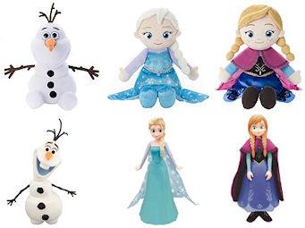 アナと雪の女王 うたって♪おしゃべり! ぬいぐるみ・アナと雪の女王 ミュージカルフレンズ