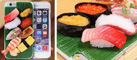 食品サンプルカバー(ミニチュアお寿司8貫)