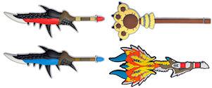 MH 狩猟武器ボールペン