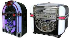 ジュークボックス型CDラジオ