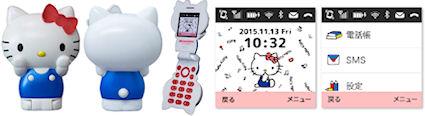 ハローキティフォン(Hello Kitty FIGURINE KT-01)