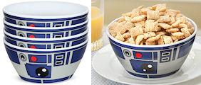 Star Wars R2-D2 Bowls