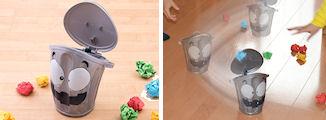 暴れゴミ箱ゲーム ゴミパッくん