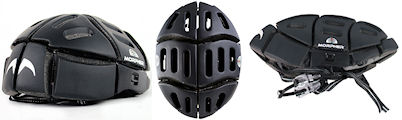 自転車専用折りたたみ式ヘルメット