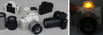 Canon EOS Kiss M フラッシュ&サウンド ミニコレクション