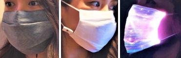 ライトアップマスク