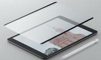 iPad用着脱式ペーパーライクフィルム